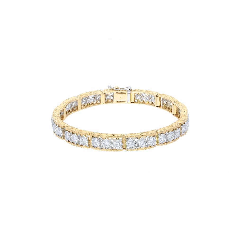 Florentine tennis bracelet...