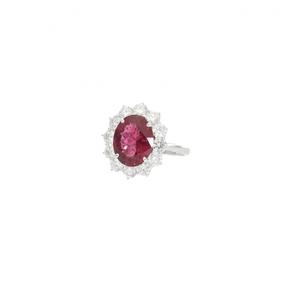 Tourmaline Ring with...