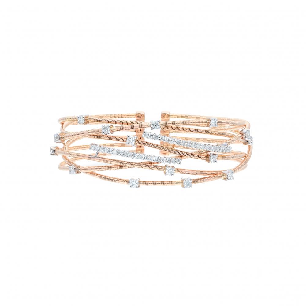 italian cuff bracelet in...