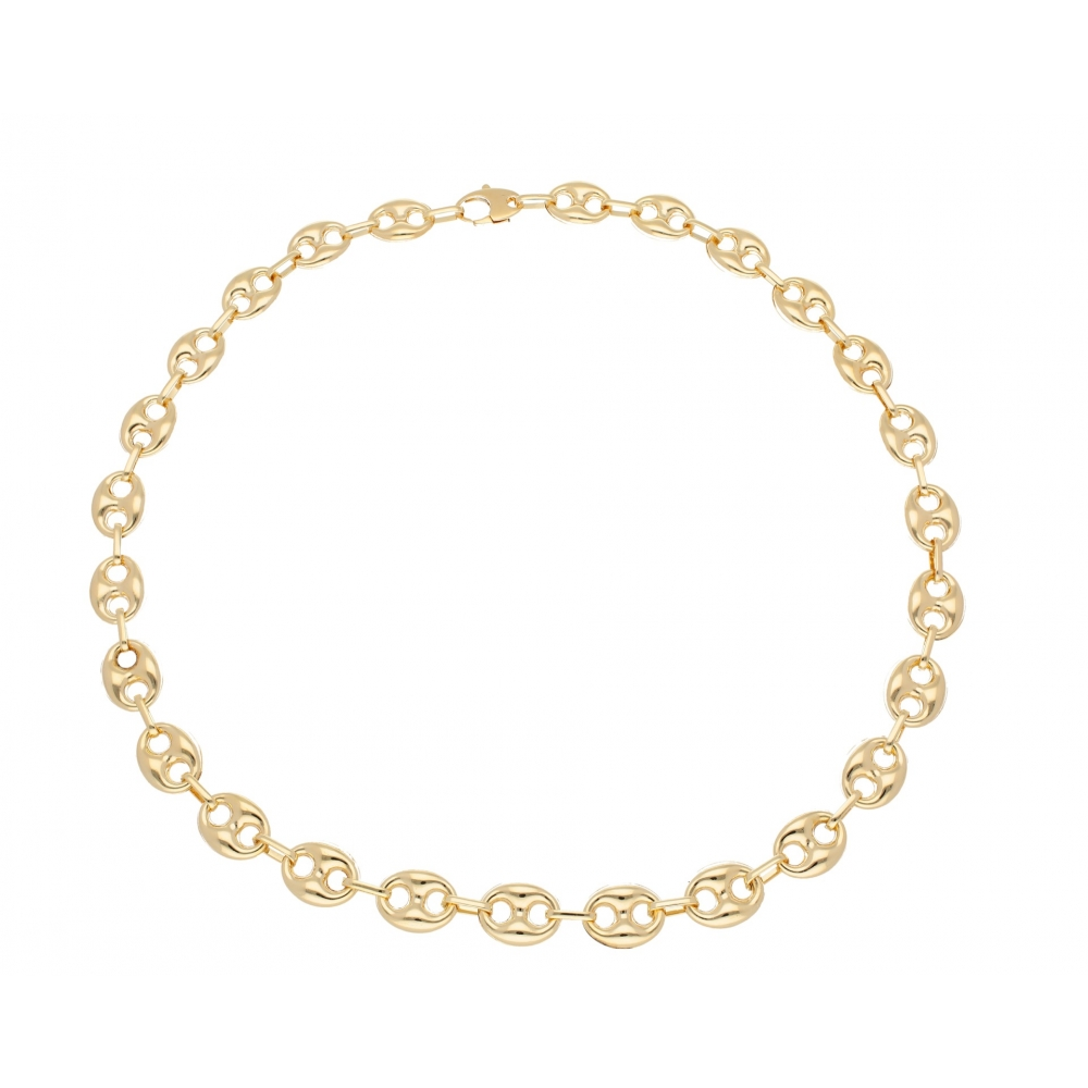 Italian-made chain necklace