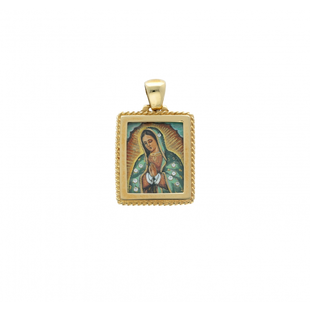 Lady of Guadalupe square...