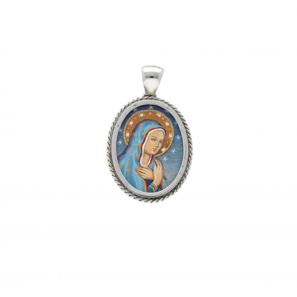 Madonna della Pace Pendant...